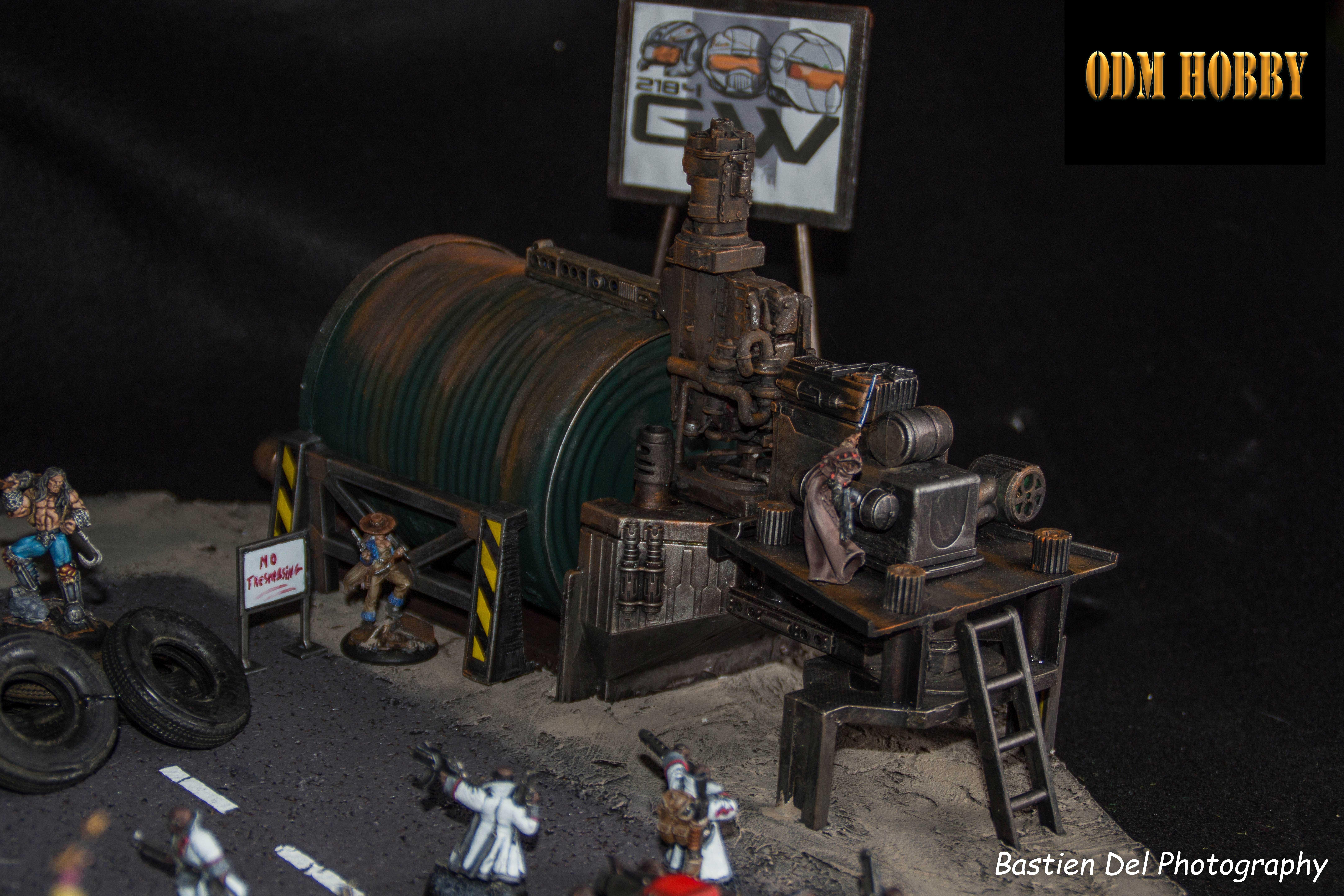 Official 2184 Generation War Wargame Diorama Odmhobby