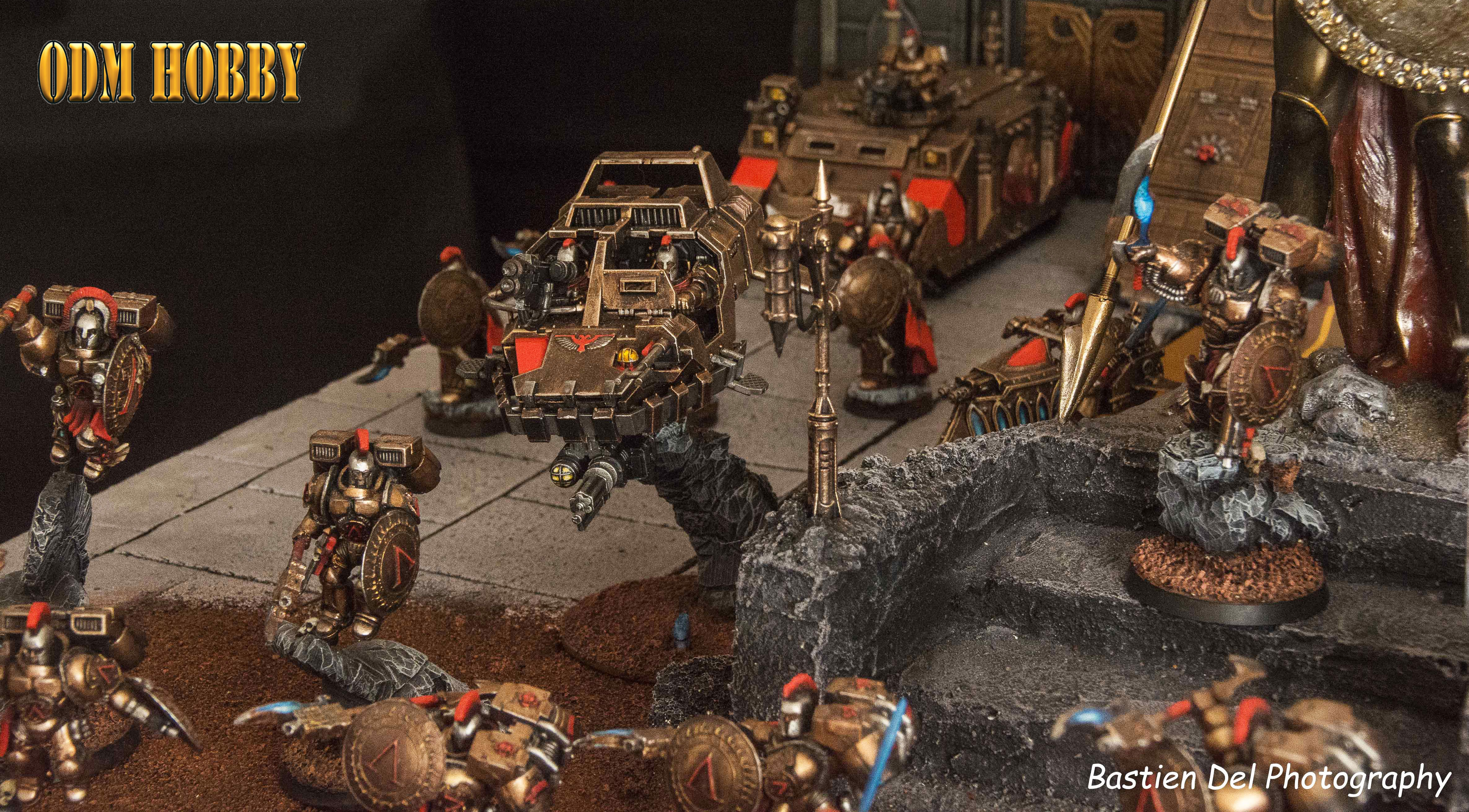 Sons Of Sparta Space Marines Chapter S Diorama Odmhobby